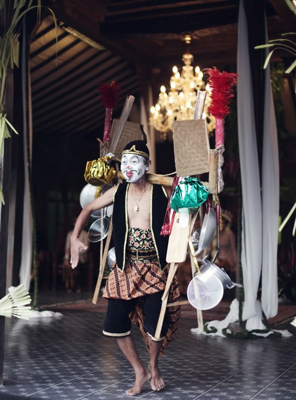 Javanese Culture on a wedding ceremony
