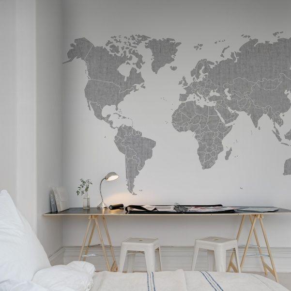 Wallpaper from Rebel Walls, Your Own World, Concrete ! #rebelwalls #wallpaper #wallmurals