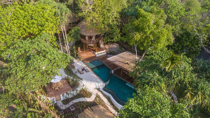 Mamole Tree House | 3 bedrooms | Sumba, Indonesia #exterior #design #home #villa #sumba #luxury #drone #photo
