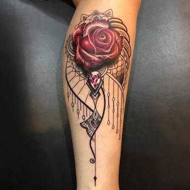 Imagini pentru mandala rose tattoo