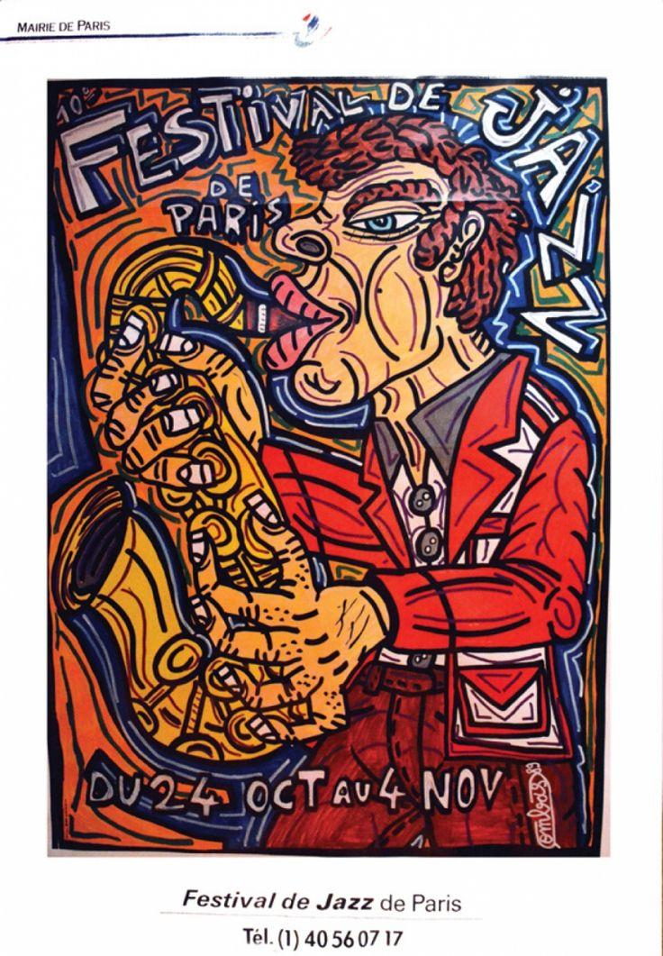 Robert COMBAS (1957): Festival de Jazz de Paris - Lot 142 de la vente aux enchères du 6 décembre 2015