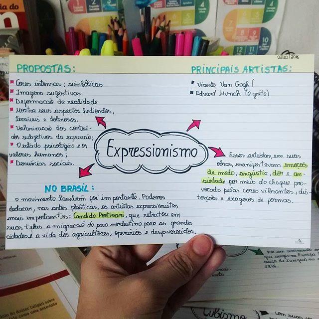 """88 curtidas, 2 comentários - Amanda Senna (@_vaitermedsim) no Instagram: """"Vanguardas europeias: EXPRESSIONISMO O Expressionismo é a arte dos extremos emocionais, da…"""""""