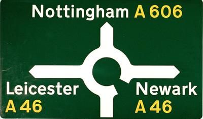 Margaret Calvert is a British typographer and graphic designer  Margaret Calvert, UK Road Sign Maquette, early 1960s