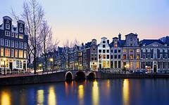 The Golden Bend on Herengracht, Amsterdam.