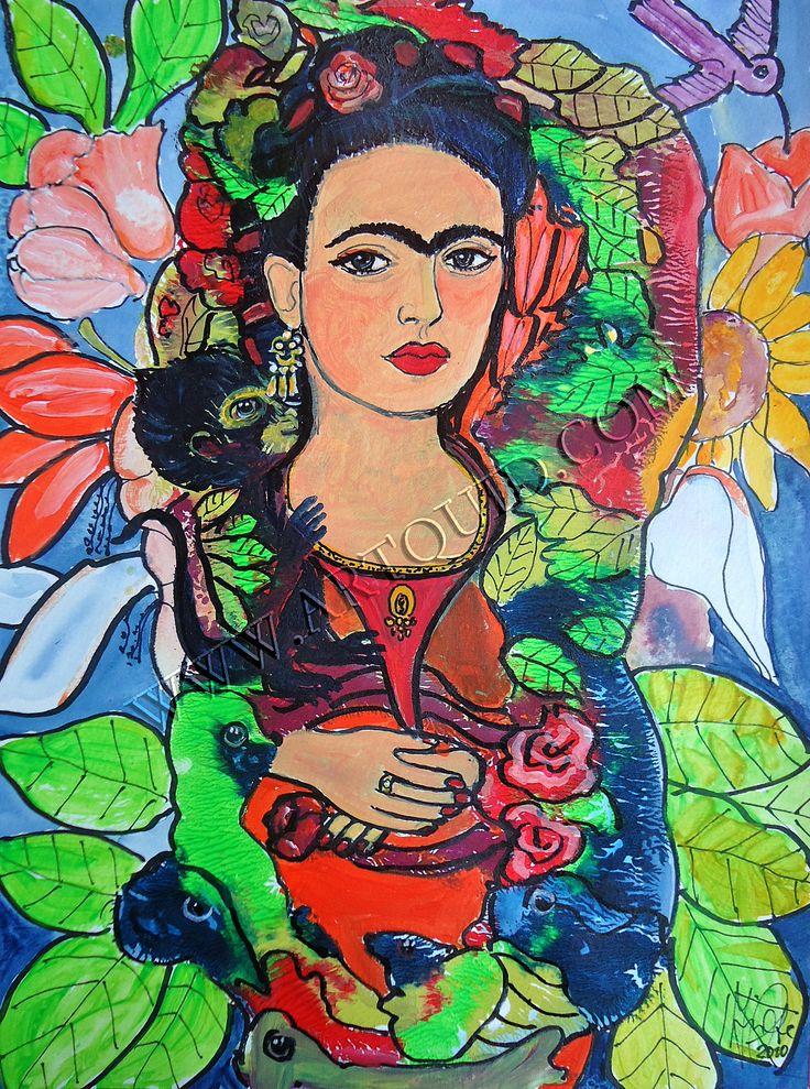 frida kahlo artwork | FRIDA KAHLO PAINTINGS DESCRIPTIONS