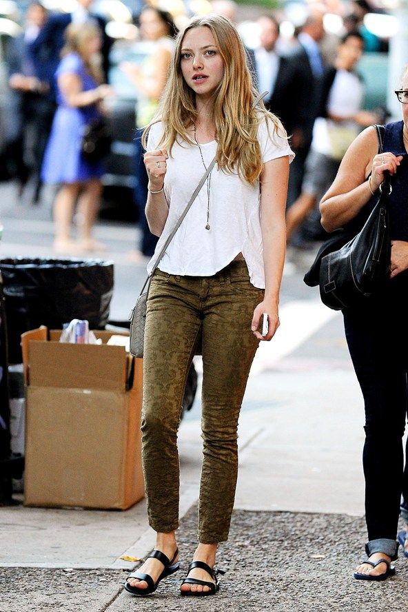 Amanda Seyfried on the street in NY - celebrity fashion