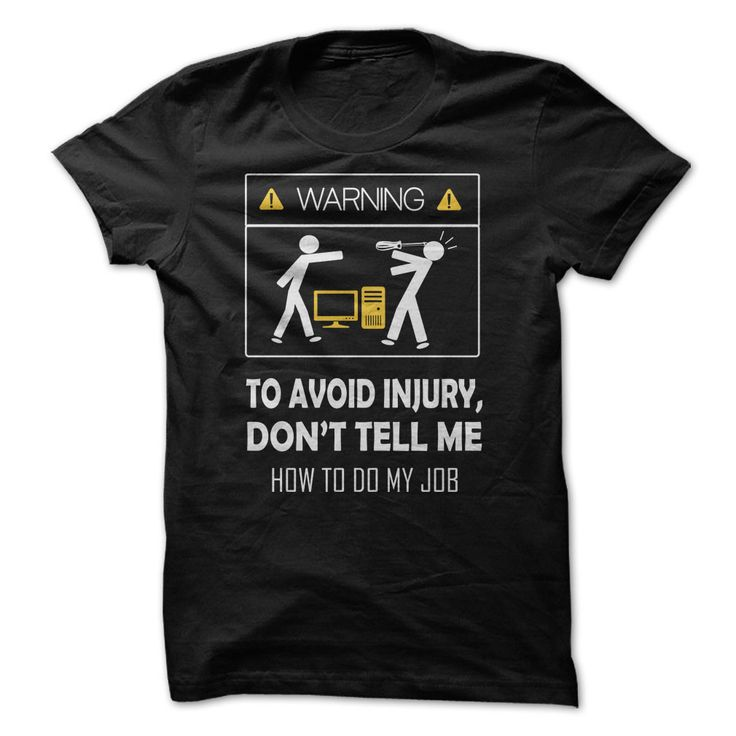 Awesome Computer Technician T Shirt for Men for men
