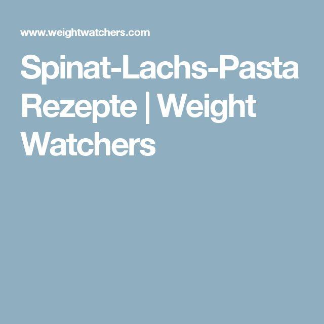 Spinat-Lachs-Pasta Rezepte | Weight Watchers
