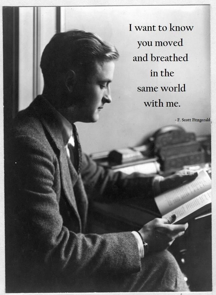 Community Post: 12 Quotes That Make You Wish F.Scott Fitzgerald Would Write You A Love Letter