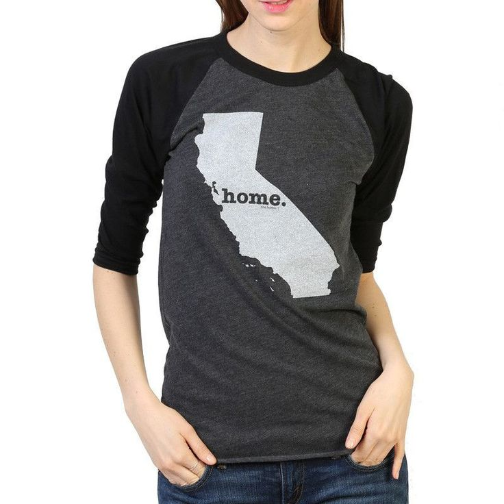 California Home State Baseball T Shirt  **P**