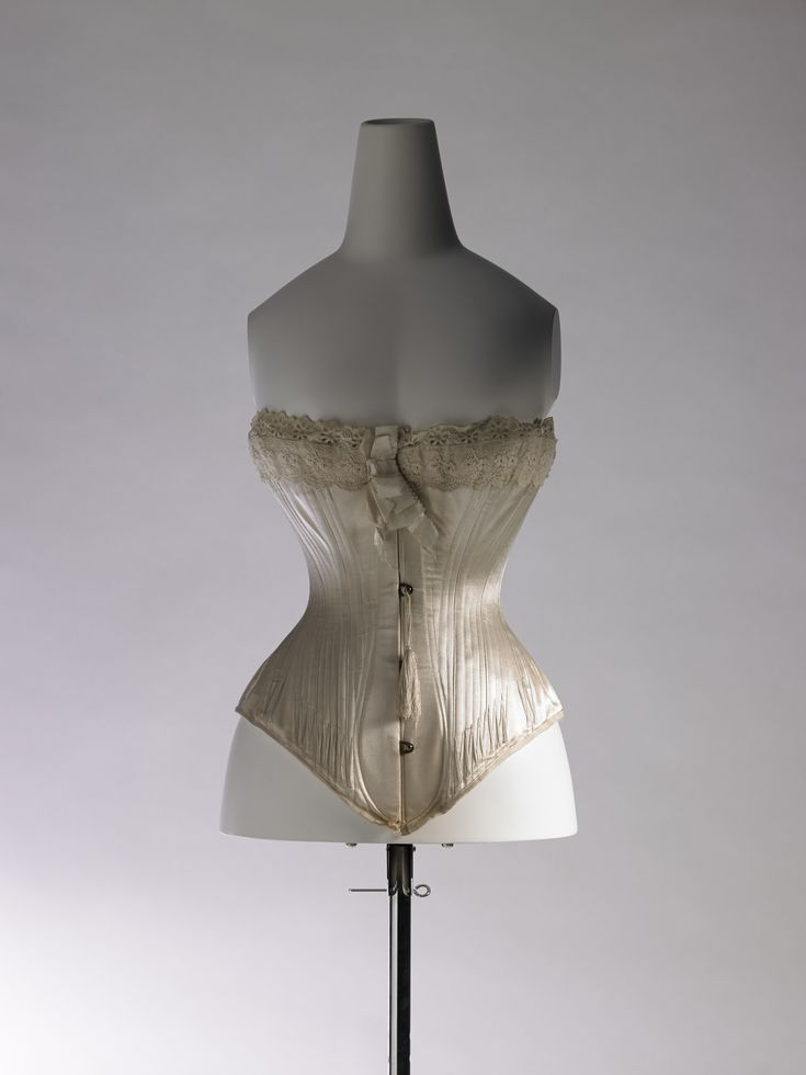 This is a corset from England in 1880.