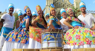 Brighton and Hove celebrates in the lead up to Rugby World Cup 2015 : Pitch Perfect