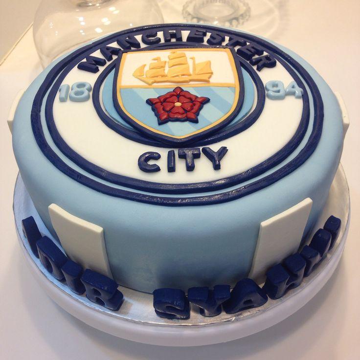 Manchester City Cake Soccer Theme Cake In 2019 City