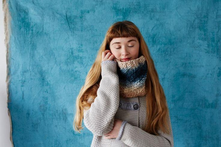 Cecelia Cowl by Rachel Atkinson for Loop London    my life in knitwear