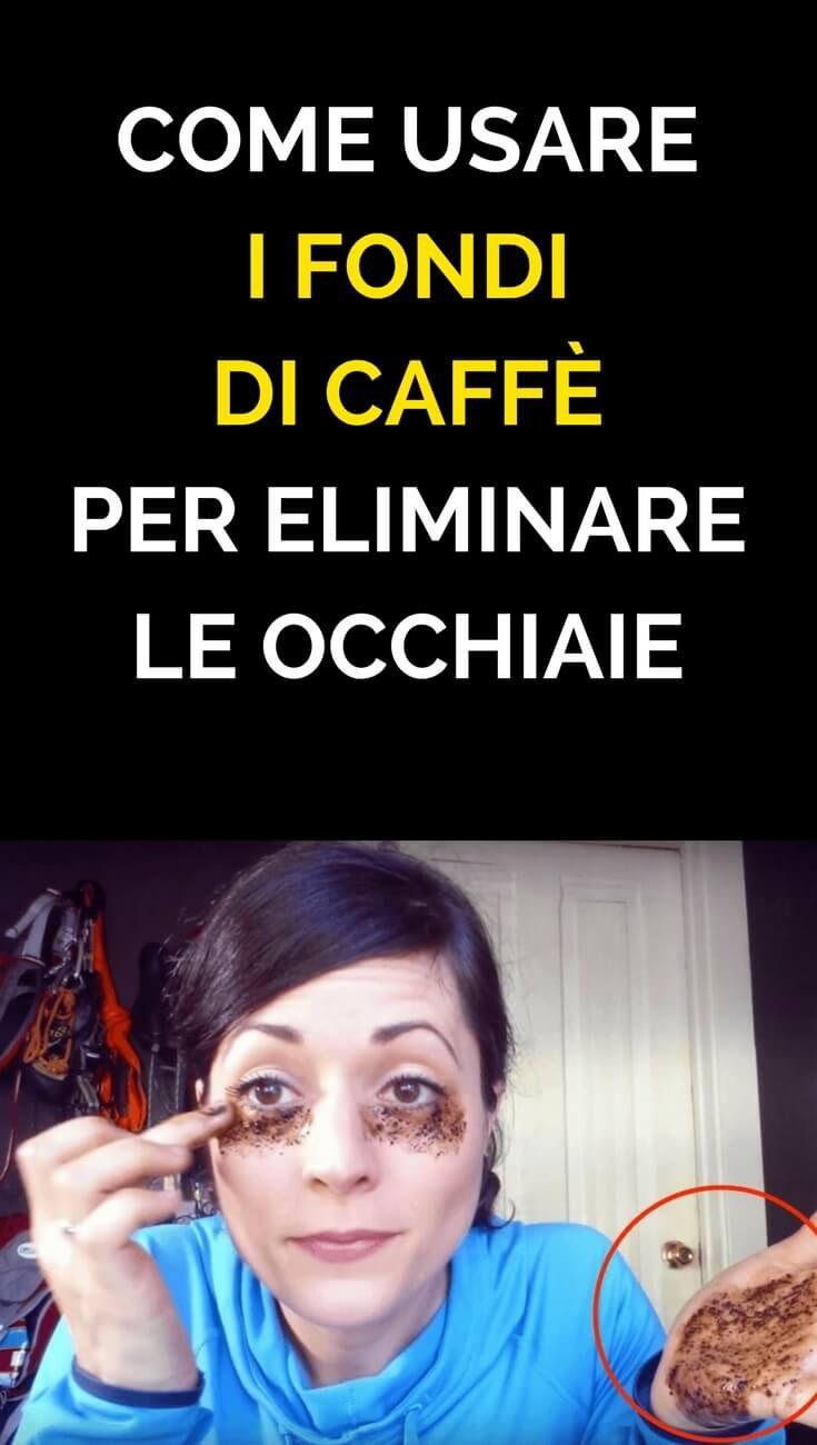 Come usare i fondi di caffè per eliminare le occhiaie. (Puoi usarli anche  per 111924fa5c7a