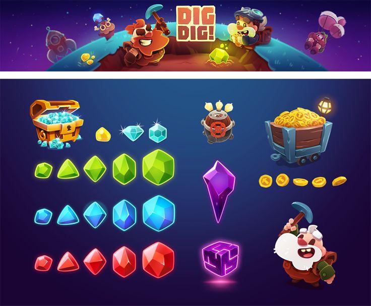 DIG DIG GAME on Behance