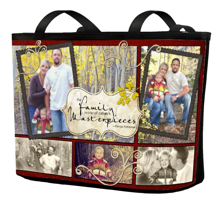 #DIY 100% completely customizable shoulder bag. This one is Heritage Makers template 95905. #digiscrap