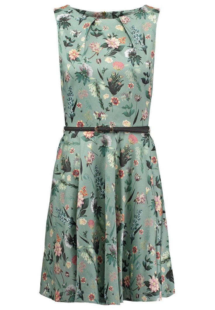 Closet Sukienka letnia - green - Zalando.pl