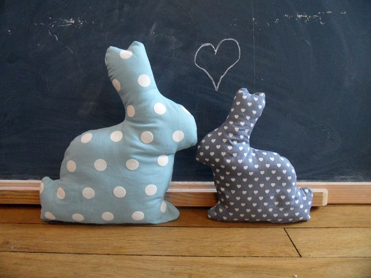 mademoiselle M » Des lapins-doudous