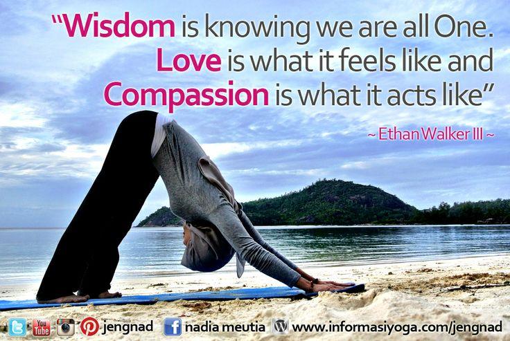 wisdom and love quote