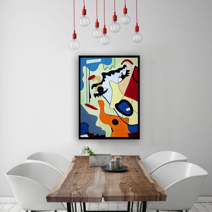 Buy Scream 3, Acrylic painting by Ninah Mars on Artfinder. #art #buyart #homedecor #interiordesign #abstract #painting #abstractpainting #artfinder #arte #contemporaryart #popart