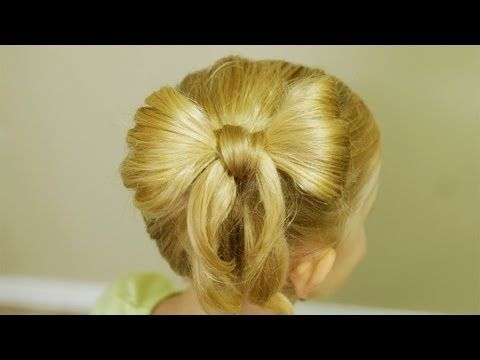 Prime 1000 Images About Bow Braid Hairstyles On Pinterest Bow Braid Short Hairstyles Gunalazisus