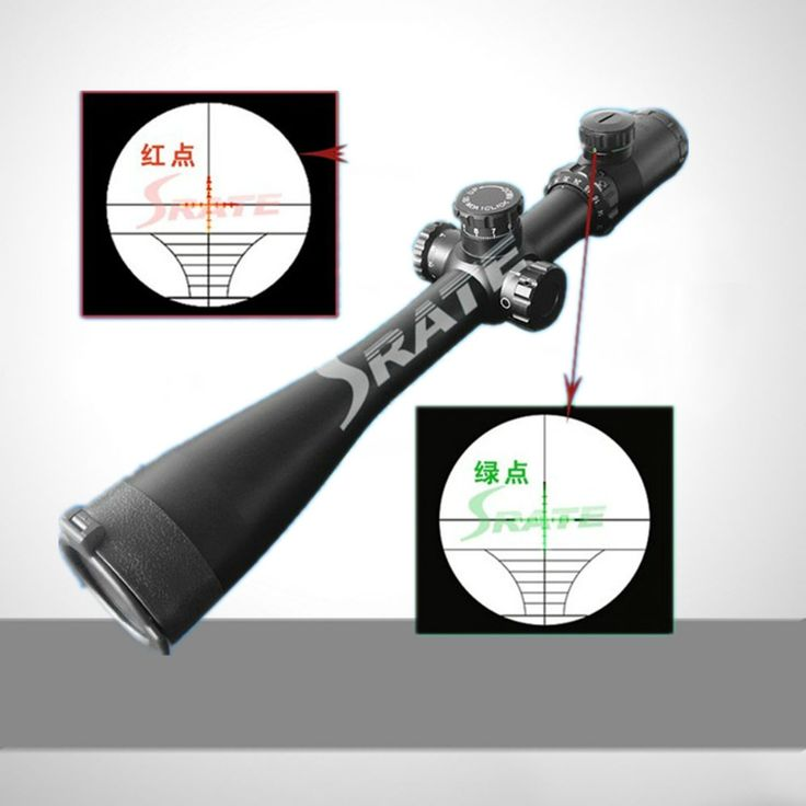 ==> [Free Shipping] Buy Best 10-40x50 Red Green Illuminated Waterproof Riflescope Tactical Scope with 11mm Mount Turret Lock System Glass Reticle Rifle Scope Online with LOWEST Price | 1284472669