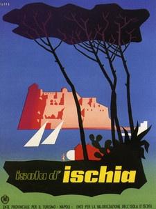 Ischia Volcanic Island Ocean Italy #travel #poster