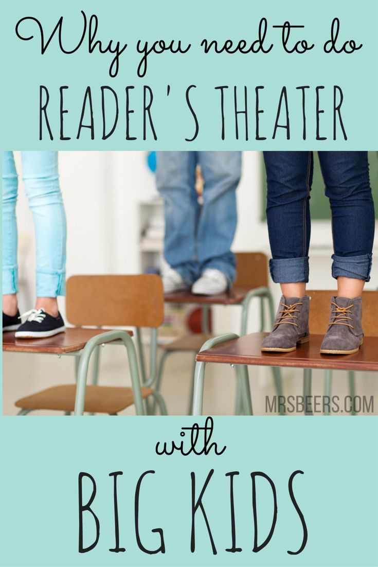 Reader's Theater for BIG KIDS