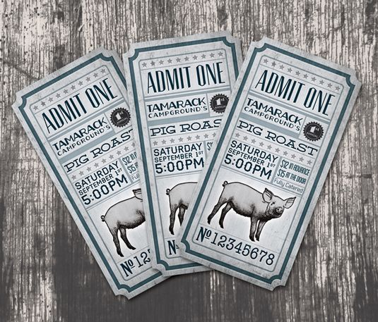 From The art of ticket design: 15 beautiful examples | Graphic design | Creative Bloq.  I fancy having a go at making some tickets in Photoshop - this is to remind me how great they can look!