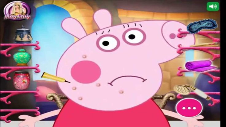 Girl Games To Play ♥ Peppa Pig Makeover ♥ Girl Games For Free  [HD]