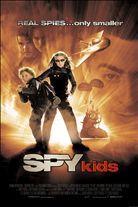 Spy Kids (2001). Starring: Antonio Banderas, Carla Gugino, Alexa Vega, Daryl Sabara, Teri Hatcher, Cheech Marin and Mike Judge