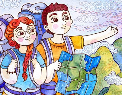 """Check out new work on my @Behance portfolio: """"tourists"""" http://be.net/gallery/44614475/tourists"""