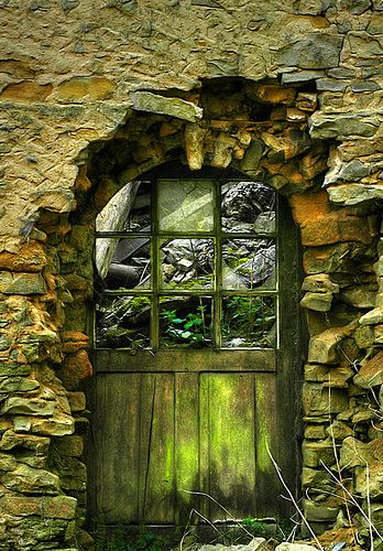 Beautiful, old door.
