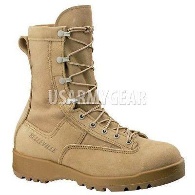 Caliente Para Mujer Chica De Botas del ejército 790 Belleville Desert Tan combatir Goretex Militar