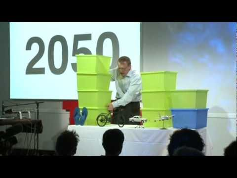 Great example of innovative visual aids. TedTalk: Hans Rosling: Global population growth, box by box