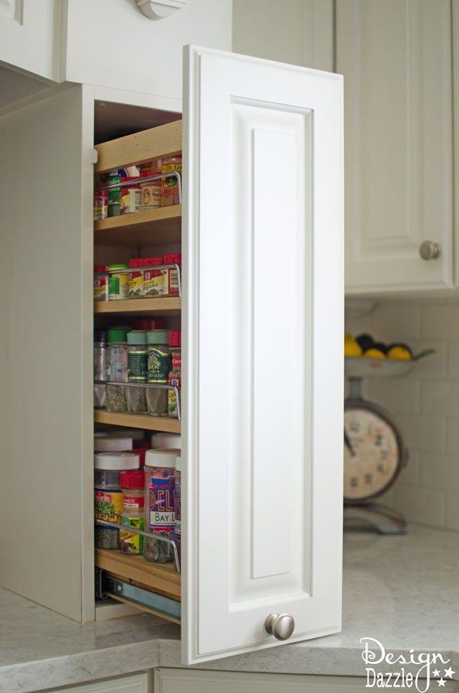 Best 25 hidden kitchen ideas on pinterest kitchen for Hidden kitchen storage ideas