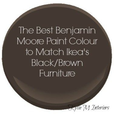 The Best Benjamin Moore Paint Colour To Match Ikea Black