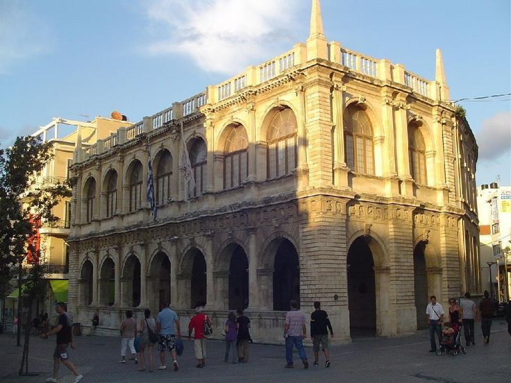Venetian Loggia (The City Hall of #Heraklion) #Crete