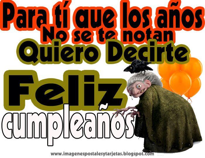 Tarjetas De Cumpleanos Chistosas | de cumpleaños chistosas ~ Fotos ...