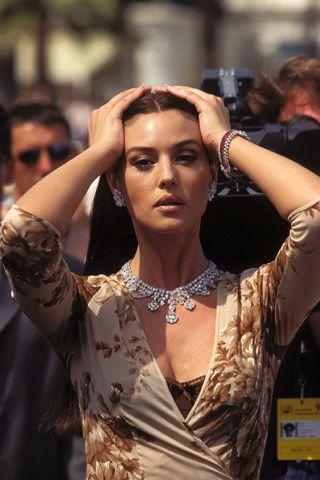 La historia de Cannes en 50 imágenes. Monica Bellucci.