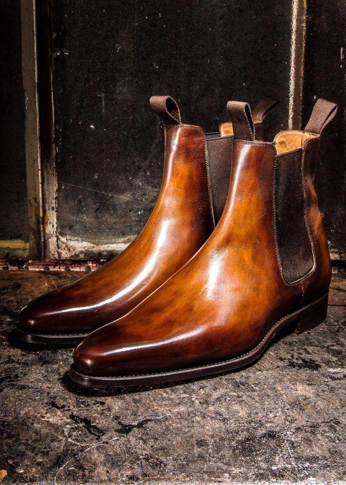 J.M WESTON Made in France Chaussures pour la vie. La semelle est remplacée quand nécessaire.