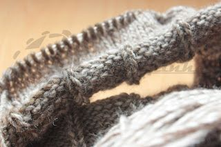new #snood on the way... #knitted with #KatiaYarn Azteca.
