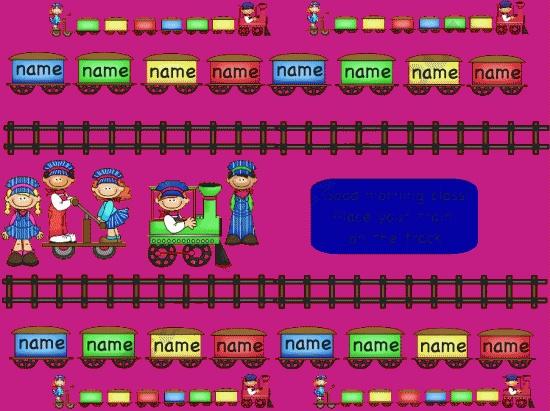 Kindergarten Calendar For Promethean Board : Promethean board attendance train prek nd grade