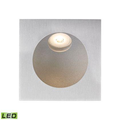 Alico Zone LED Step Light In Aluminum