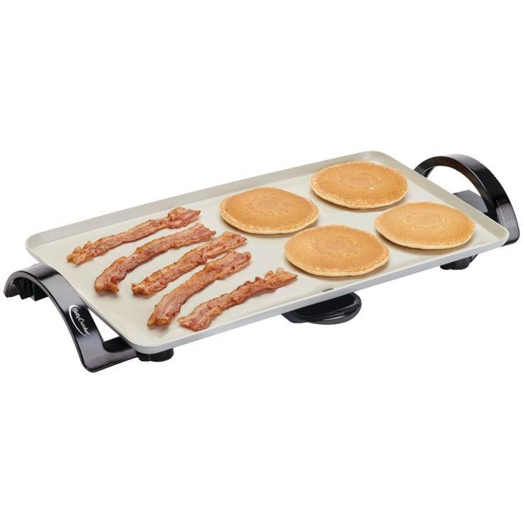 Electric Griddle Fry Pan Kitchen Appliance Pancake Maker
