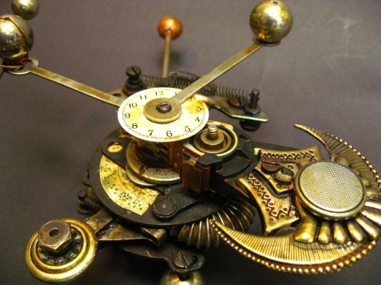 steampunk slimline mobile phone