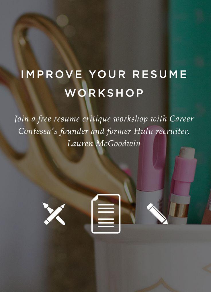 770 best CV Resume Portfolio images on Pinterest Resume tips - free resume critique