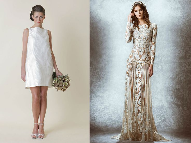 Свадебные платья в стиле ретро – очаровательные модели для тематической свадьбы