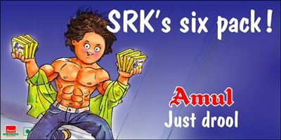 SRK's Six pack!